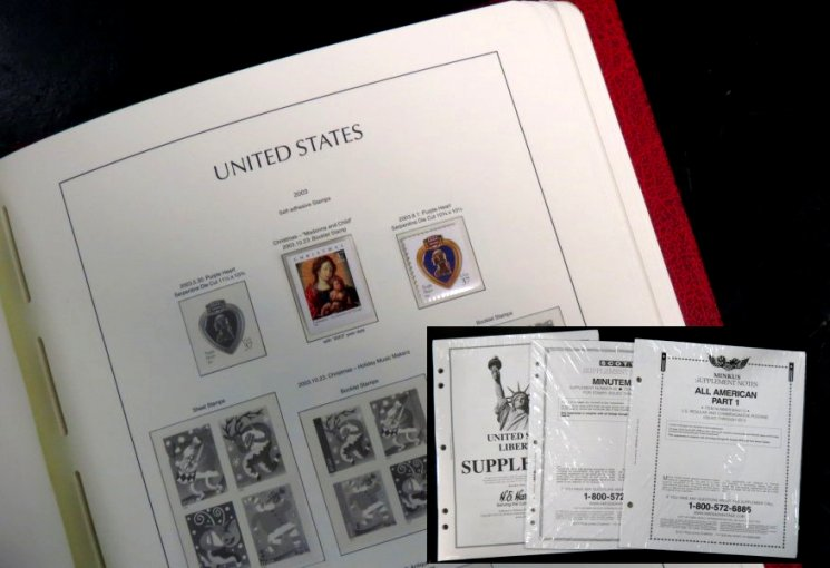 Stamp Albums and Supplements