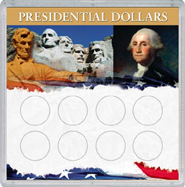 Whitman Presidential Dollar Permalock (Large 8H) #WH68