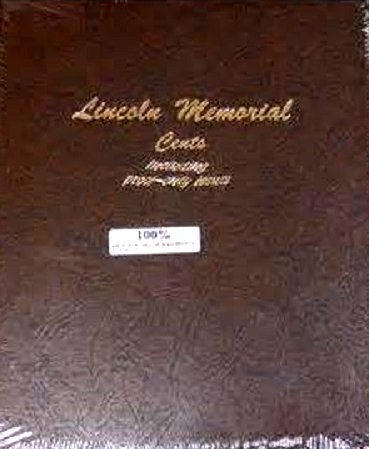 Dansco Album Lincoln Memorial Cents 1959-2009 including proofs #DN8102