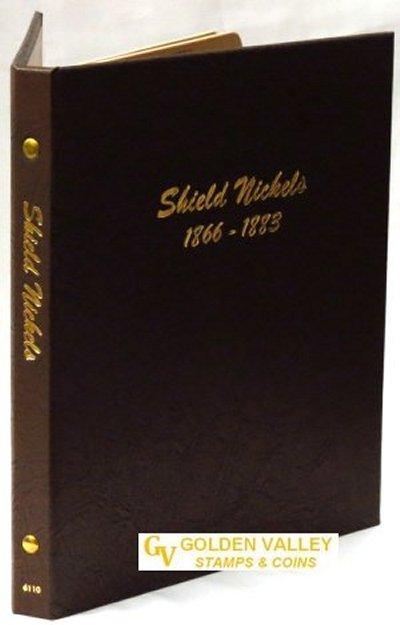 Dansco Album Shield Nickels1866-1883 #DN6110