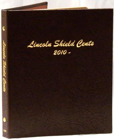 Dansco Album Lincoln Shield Cents 2010-2027D #DN7104