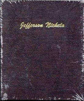 Dansco Album Jefferson Nickels 1938-2005 #DN7113