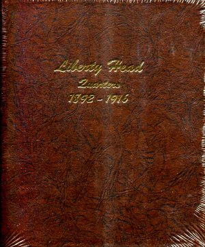 Dansco Album Liberty Head Quarters (Barber) 1892-1916 #DN7130