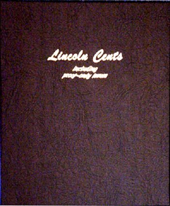 Dansco Album Lincoln Cents 1909-2009 including proofs #DN8100