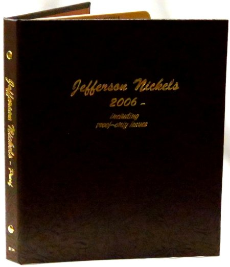Dansco Album Jefferson Nickels 2006P-2017D including proofs #DN8114