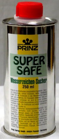 Prinz Super Safe Watermark Fluid 250 ml  <p><B>*TEMPORARILY OUT OF STOCK*<B><p> EDWM