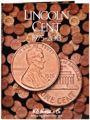 HE Harris Coin Folder Lincoln Cent No. 3, 1975-2013 #HECF2674