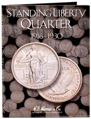 HE Harris Coin Folder Standing Liberty Quarters 1916-1930 #HECF2687