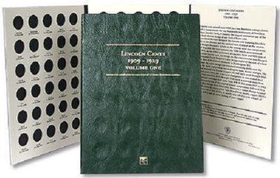 Littleton Lincoln Cent Folder 1909-1929 LCF18