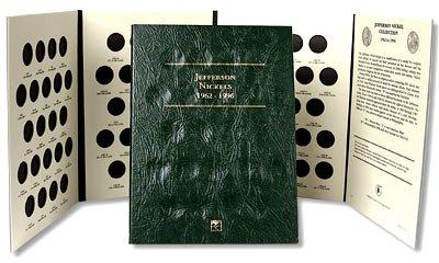 Littleton Jefferson Nickel Folder No. 2 1962-1996 LCF2