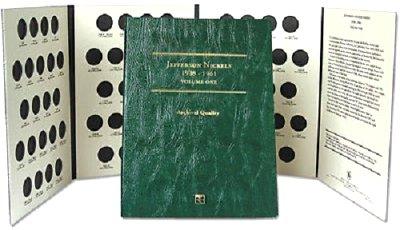 Littleton Jefferson Nickel Folder No. 1 1938-1961 LCF25