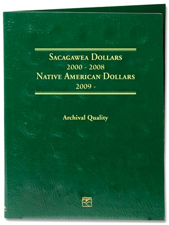 Littleton Sacagawea Dollar Folder 2000-2015D LCF37