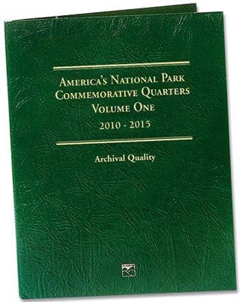 Littleton National Park Quarters Folder No. 1, 2010-15 - PD LCF42D