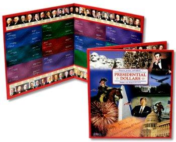 Littleton 2007- 2016 U.S. Presidential Dollar Deluxe Presentation Portfolio, 14X12 LCFPMF2