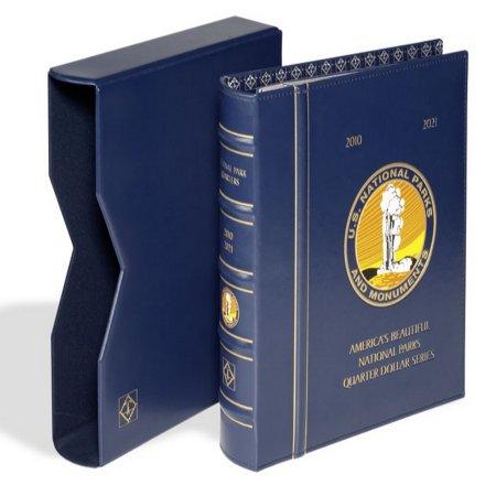 Lighthouse National Park Quarter Album P  D with Slip Case #LHCA25NP