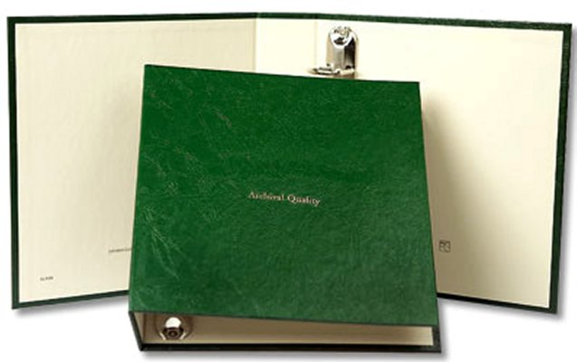 Littleton Blank 1.25 Binder. No pages. LCA30