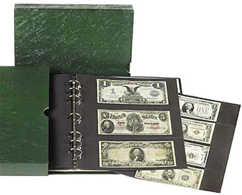 Littleton Paper Money Album with Slipcover LCA44