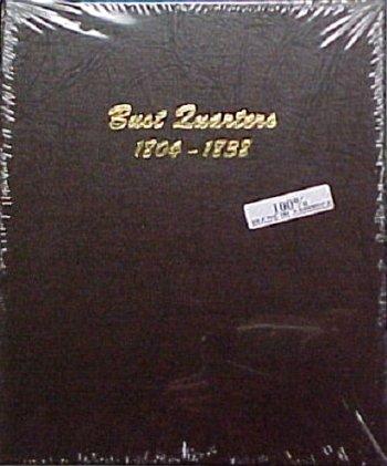 Dansco Album Bust Quarters 1804-1838 DN6141
