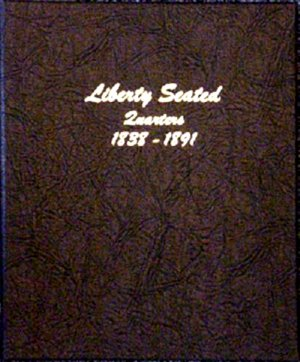 Dansco Album Liberty Seated Quarters 1838-1891 DN6142
