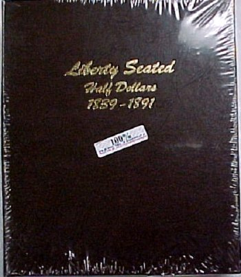 Dansco Album Liberty Seated Half Dollars 1839-1891 DN6152