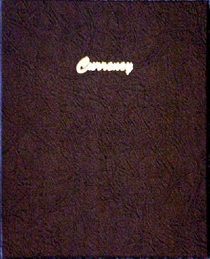 Dansco Album Currency Stock Book 9 pages clear vinyl 3 pockets per page DN7001