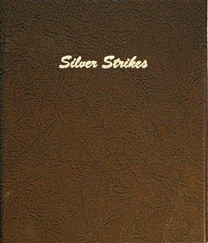 Dansco Album Silver Strikes 9 Pages Vinyl 12 2x2 Pockets  DN7004