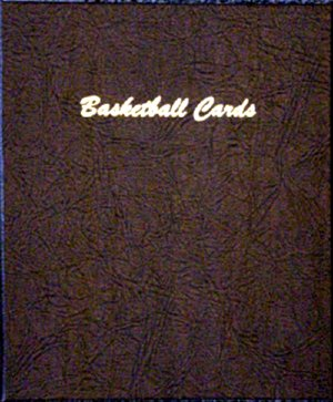 Dansco Album Basketball Cards 15 Vinyl Pages w/4 pockets each DN7016