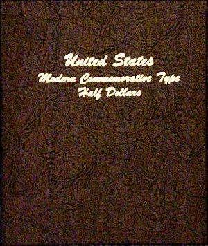 Dansco Album Modern Commemorative Type - Half Dollar 1982-2011 DN7061