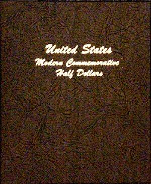 Dansco Album Modern Commemorative - Half Dollar 1982 to 2011S including proofs DN7063