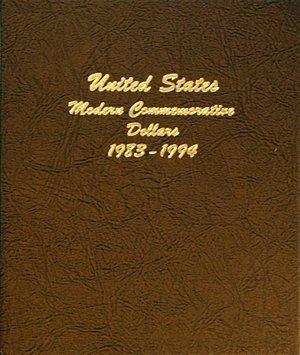 Dansco Album Modern Commemorative - Dollar 1983-1994 Vol 1 including proof DN70651
