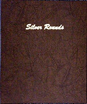 Dansco Album Silver Rounds 45-40mm ports DN7084