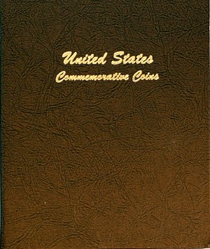 Dansco Album US Commemorative Coins 1893-1954 2 volume set DN7095