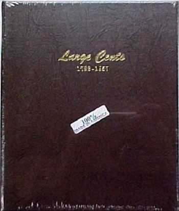 Dansco Album Large Cents 1793-1857 DN7099