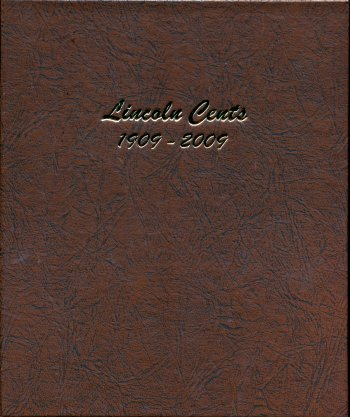 Dansco Album Lincoln Cents 1909-2009 DN7100
