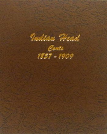 Dansco Album Indian Head/Eagle Cents 1857-1909 DN7101