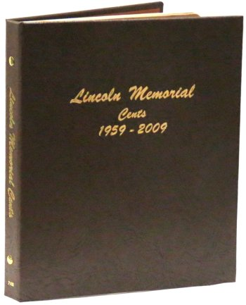 Dansco Album Lincoln Memorial Cents 1959-2009 DN7102