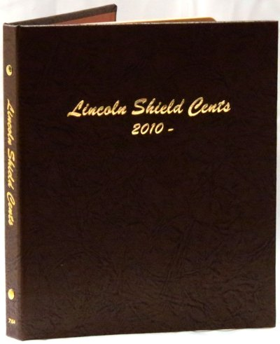 Dansco Album Lincoln Shield Cents 2010-2027D <p><B>*TEMPORARILY OUT OF STOCK*<B><p> DN7104