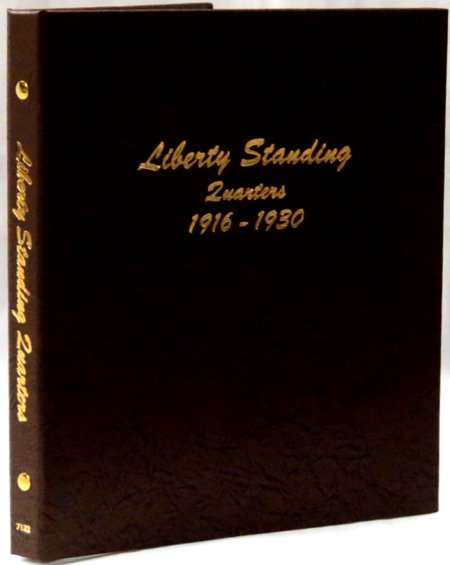 Dansco Album Liberty Standing Quarters 1916-1930 DN7132
