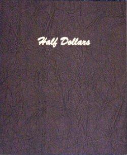 Dansco Album Half Dollars Plain 80 ports DN7157