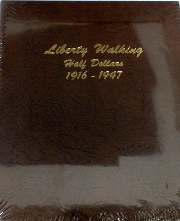 Dansco Album Liberty Walking Half Dollar 1916-1947 DN7160