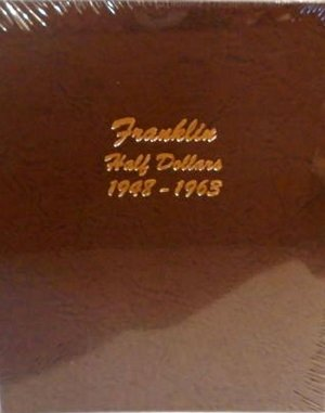 Dansco Album Franklin Half Dollar 1948-1963 DN7165