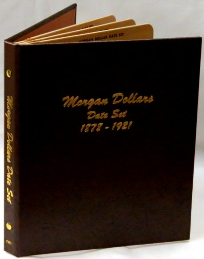 Dansco Album Morgan Dollars date set 1878-1921 DN7171
