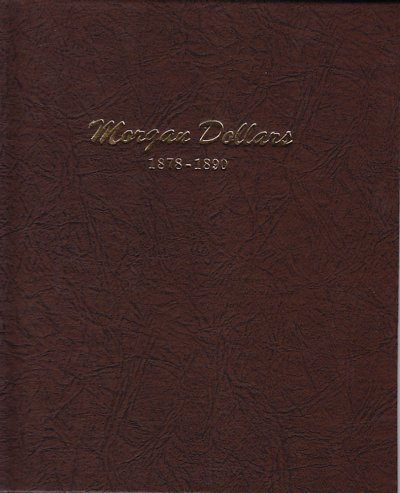 Dansco Album Morgan Dollars 1878-1890 <p><B>*TEMPORARILY OUT OF STOCK*<B><p> DN7178