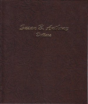 Dansco Album Susan B. Anthony (SBA) Dollars 1979-1999 DN7180