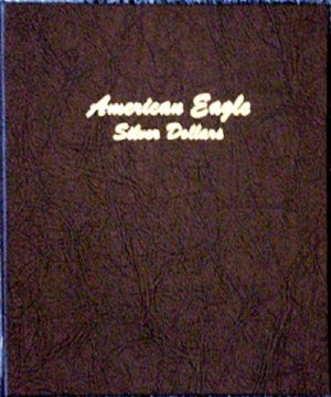 Dansco Album American Silver Eagle Dollars 1986-2021 <p><B>*TEMPORARILY OUT OF STOCK*<B><p> DN7181