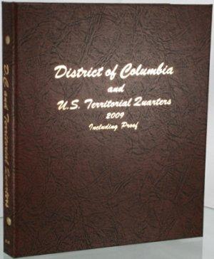 Dansco Album Washington Territory Quarters 2009 PDSS mints including proofs DN8145
