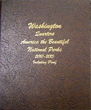 Dansco Album Washington National Park Quarters #1 2010-15 PDS  Sil Pr <p><B>*TEMPORARILY OUT OF STOCK*<B><p> DN8146