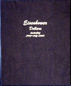 Dansco Album Eisenhower Dollars 1971-1978 including proofs DN8176