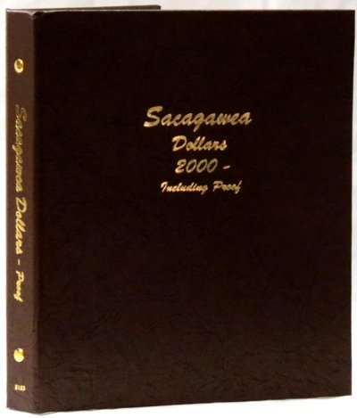 Dansco Album Sacagawea Dollar 2000-2019S w/proof DN8183