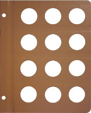Dansco 33mm Size Pages DNPG33mm